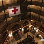 Hotel is celebrating 100 years of supporting the Red Cross