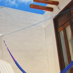 deluxe room balcony and hammock