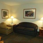 Chaparral Suites -- sitting room