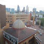 Vue sur la mosquée depuis la chambre