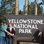 Entering Yellowstone with our guide Kyle