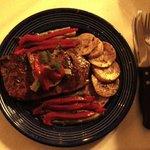 Alcazar's grilled steak