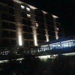 Devant de l'hôtel