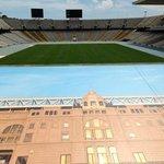 The stadium - inside