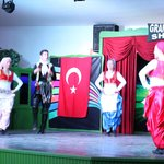 Turkish national dance at the evening show