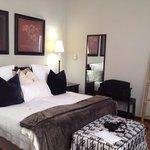 luxuriöse Zimmerausstattung