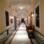 Corridor to rooms Level 2.  Beautiful marble and tiles.  Imagine what the rest of the hotel is l