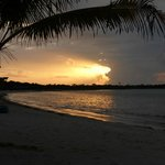 Our first sunrise in Soliman Bay