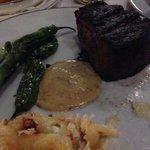 Fillet, bernaise, peppers & potato gratin dauphinois