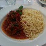 Spaghettis poulet