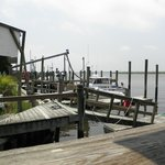 View of docks