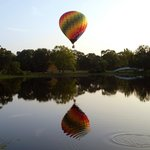 Book a hot air balloon ride