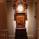 The old house clock.