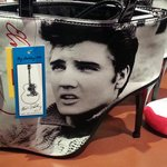 Elvis High-Heel Shoe Purse