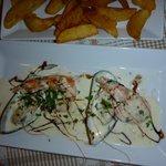 Meze med sjømat