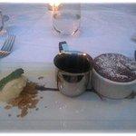 Bistro 45 Chocolate Soup