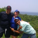 Cleve, Bill and I on the island tour