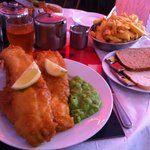 Large fish supper