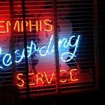 Recording Service neon sign