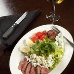 The classic steak cobb salad