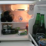 In room refrigerator (Bottle beers is my buying)