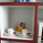 Coffee and Tea set in room