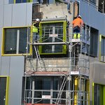 Как строят соседний отель