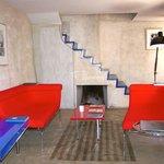 Our Maison des Amoureux 1st floor.