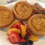 Character waffles!