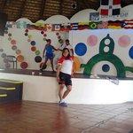 En el ensaño de los chicos Dominican bay