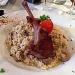 Lamb and Mushroom Risotto