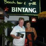 Jill & Jim Harris - enjoying their experience at Meads