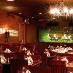 Inside of Cattlemen's Steakhouse OKC
