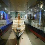 Ship on Display at the Maritime Museum