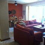 Living/dining room in H-102