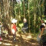 during a Huasquila hike