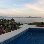 Panorama from our balcony...