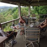 breakfast on lanai