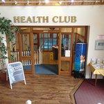 Health Club entrance