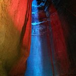 Music and light show @ Ruby Falls