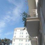 The balconies