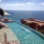 view from the timeshare private pool up high!