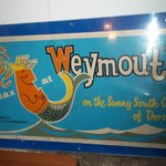 the aunt,mum and wife are and old known Weymouth family loved this poster