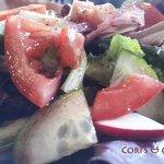 Fresh garden salad daily