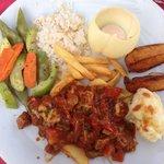 Store porsjoner og veldig god tyrkisk mat :)