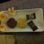 Biscuits & sweets for turn down service