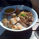 Bo-bun porc grillé