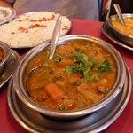 Curry dishes at Depa Tandoori