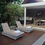 Chillin' at the Bamboo Villa