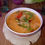 Tom Yam Kung (Soupe piquante crevettes)